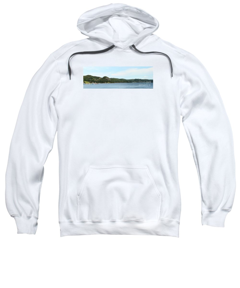 Northeast Arm Sweatshirt featuring the photograph North East Arm by Barbara Griffin