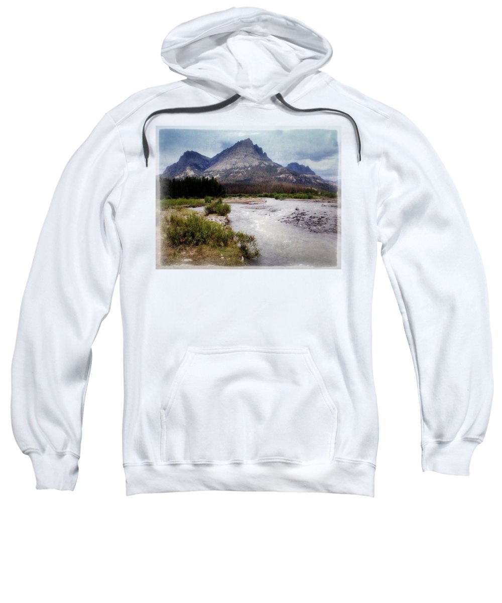 Wyoming Sweatshirt featuring the photograph North Of Dubois by Marty Koch