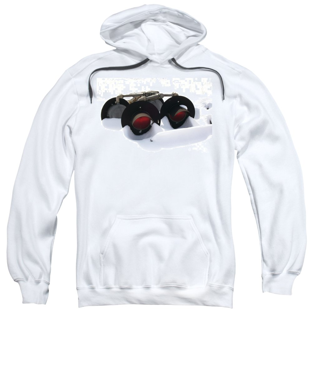 Lights Sweatshirt featuring the photograph Nothin But Lights by Sara Raber
