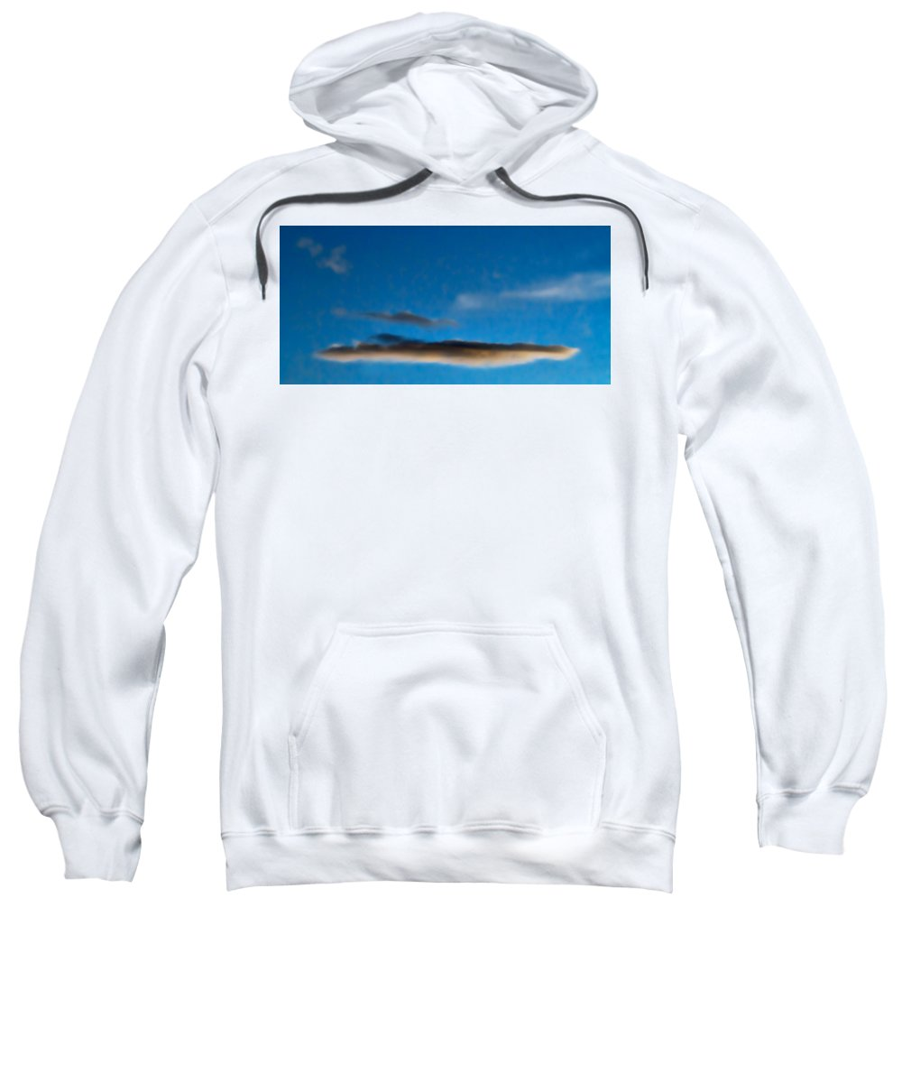 Sky Sweatshirt featuring the photograph November Clouds 010 by Agustin Uzarraga