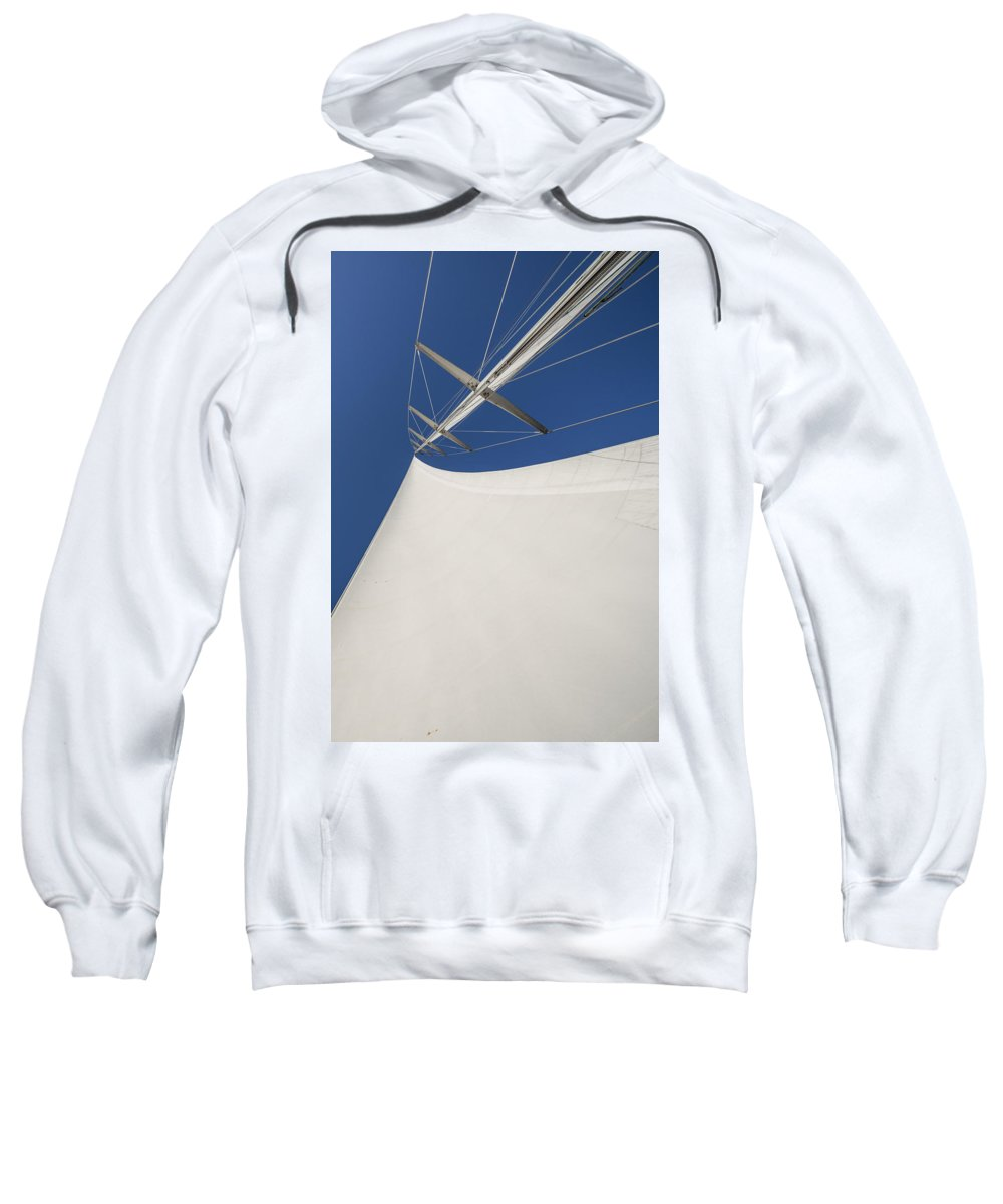 Sails Sweatshirt featuring the photograph Obsession Sails 4 by Scott Campbell