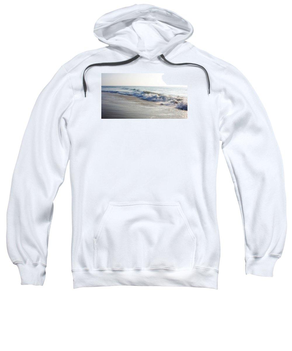 Ocean Sweatshirt featuring the photograph Ocean Waves by Robin Lynne Schwind
