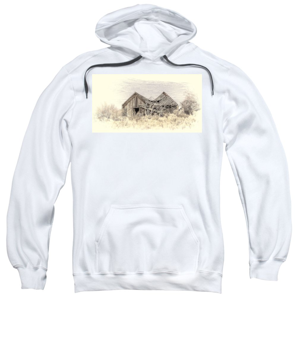 House Sweatshirt featuring the photograph Old House by Dianne Phelps