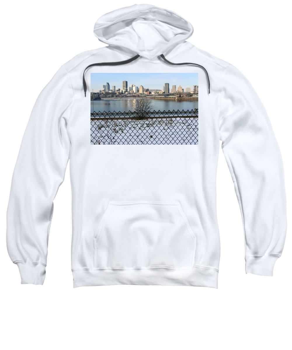 Montreal Sweatshirt featuring the photograph Old Port Of Montreal by Munir Alawi