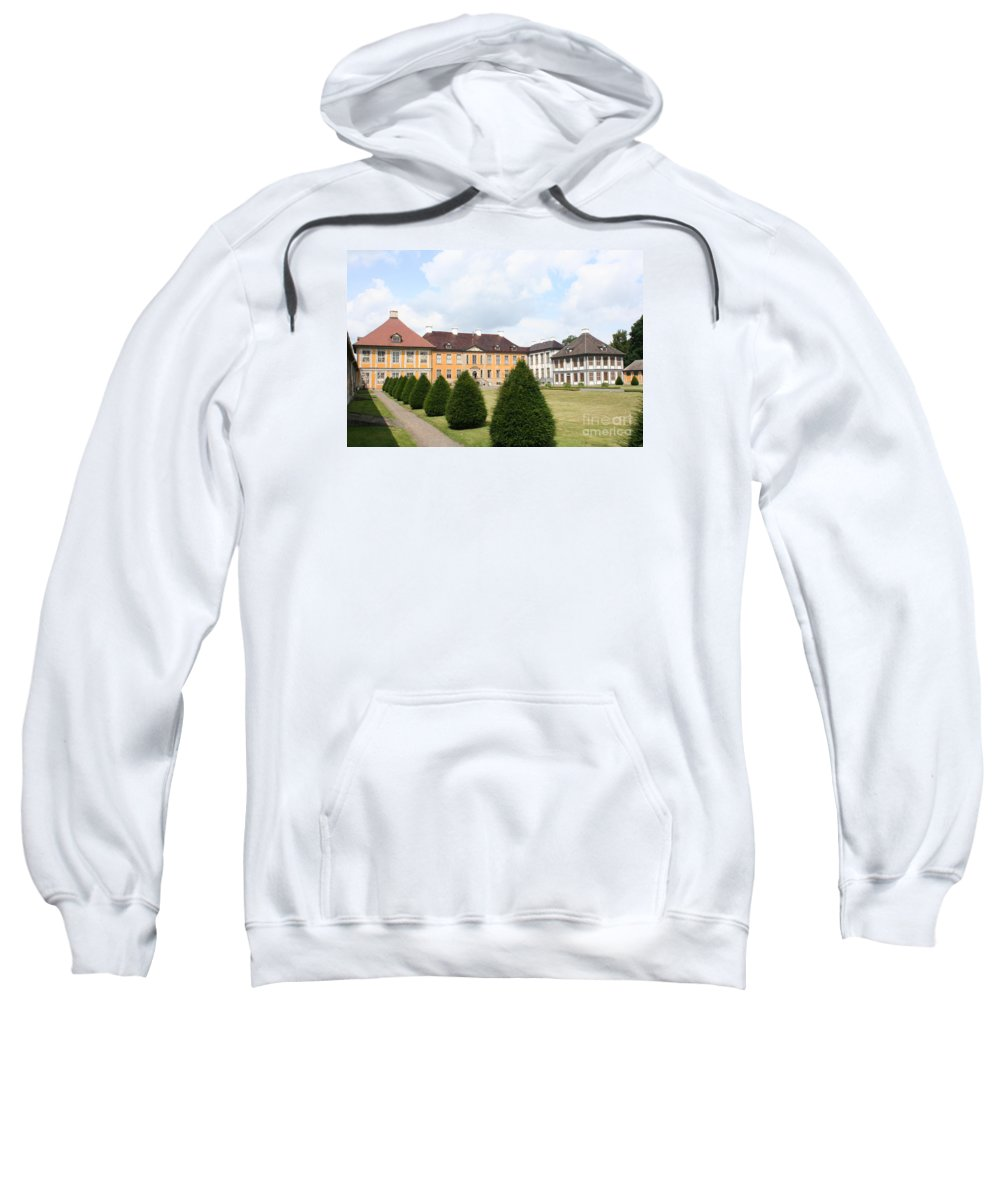 Palace Sweatshirt featuring the photograph Palace Oranienbaum - Germany by Christiane Schulze Art And Photography
