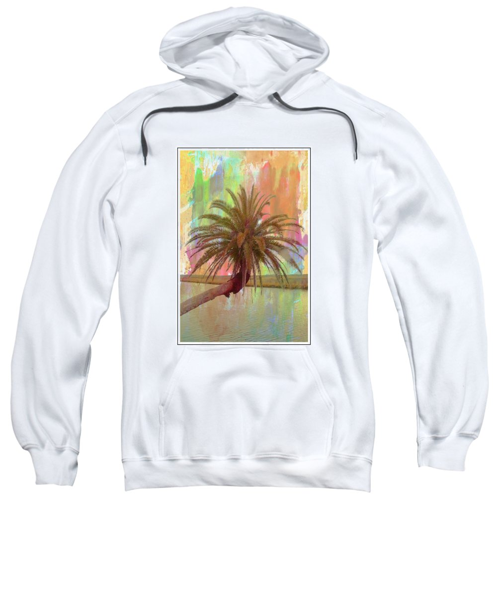 Palm Tree Sweatshirt featuring the photograph Palm On The Loop by Alice Gipson