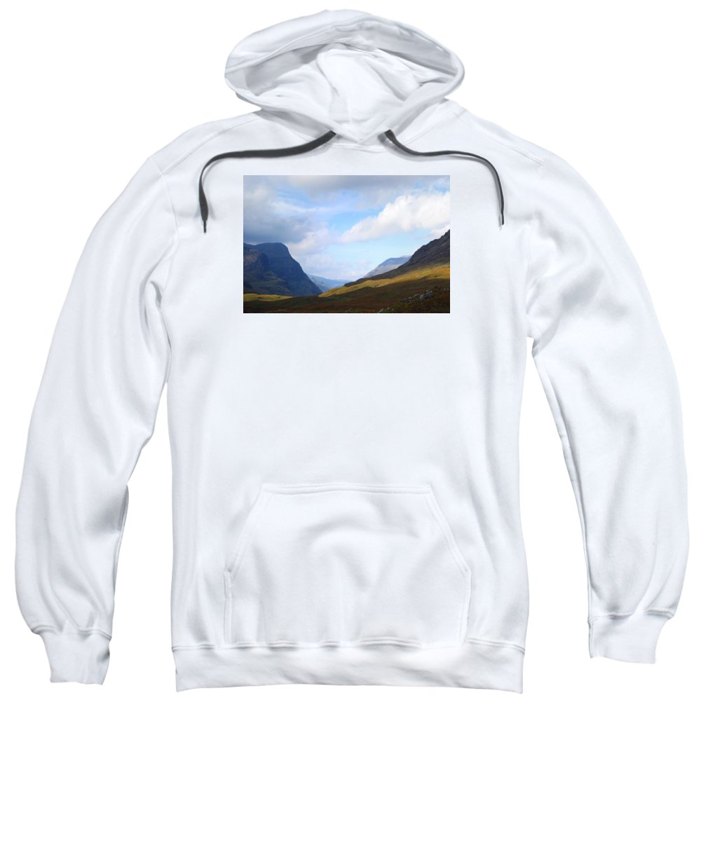 Scotland Sweatshirt featuring the photograph Passing Through by Wendy Wilton