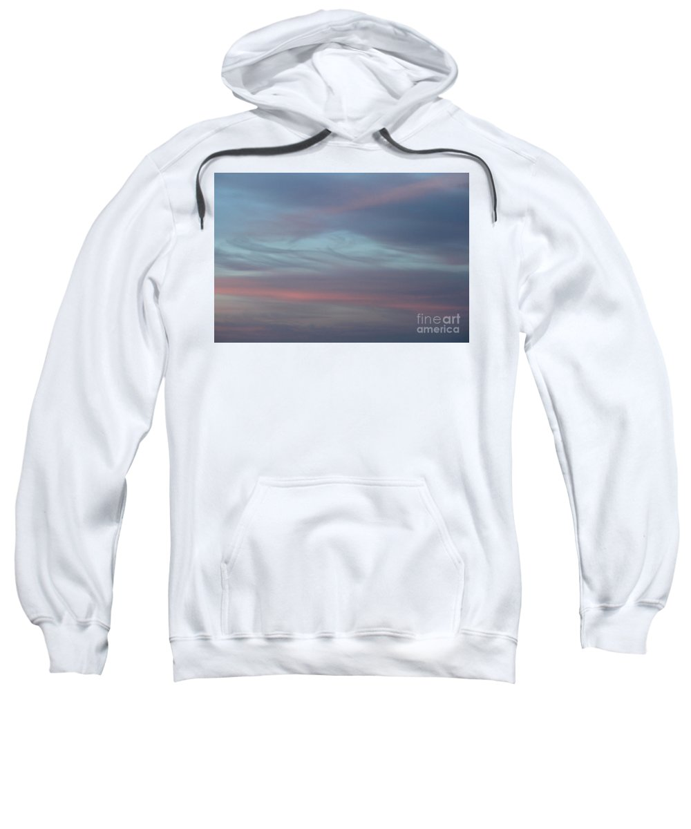 Sky Sweatshirt featuring the photograph Pastels In The Heavens by Jennifer E Doll