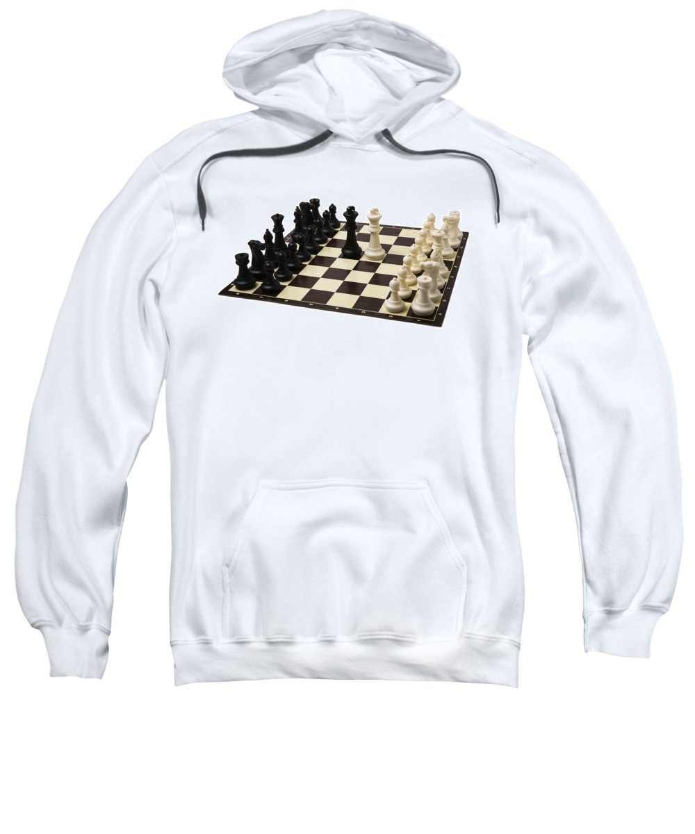Abstract Sweatshirt featuring the photograph Peace Negotiations At The Summit Level - Featured 3 by Alexander Senin