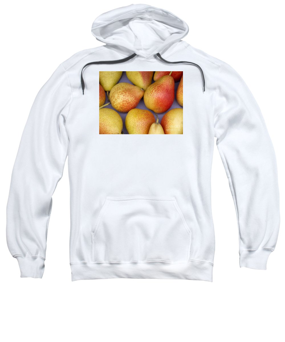 Pears Sweatshirt featuring the photograph Pears by Ann Horn