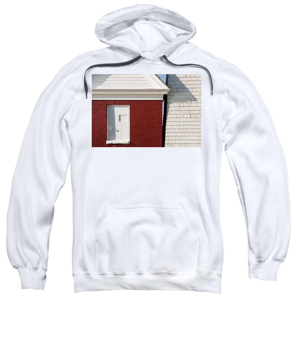 Maine Sweatshirt featuring the photograph Pemaquid Point Bell House by John Greim