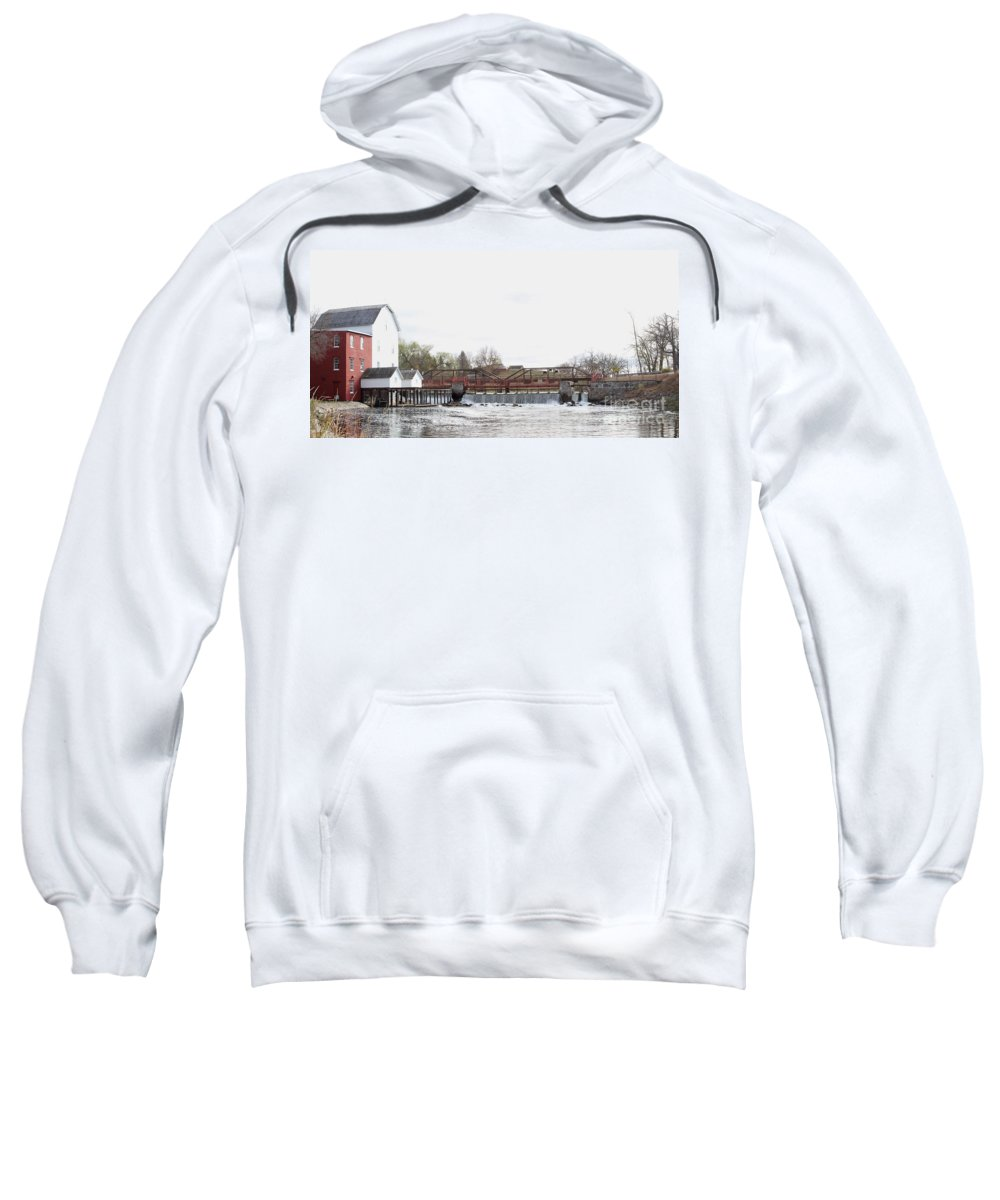Mill Sweatshirt featuring the photograph Phelps Mill by Lori Tordsen
