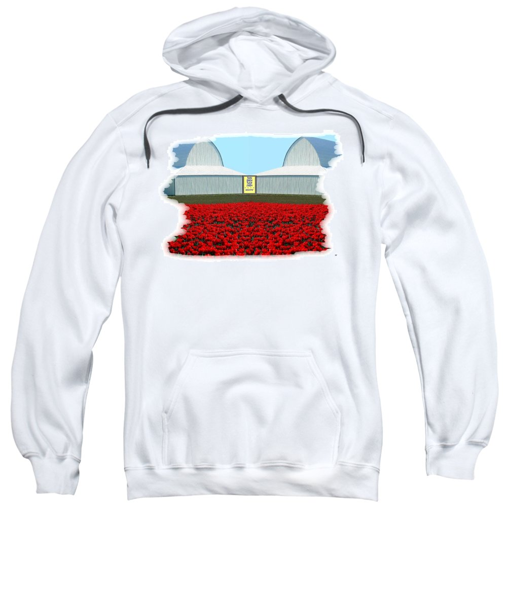 Photo Synthesis 8 Sweatshirt featuring the digital art Photo Synthesis 8 by Will Borden