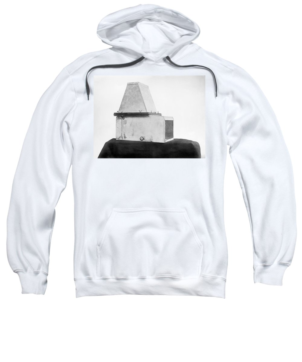 1909 Sweatshirt featuring the photograph Photography Camera, C1909 by Granger