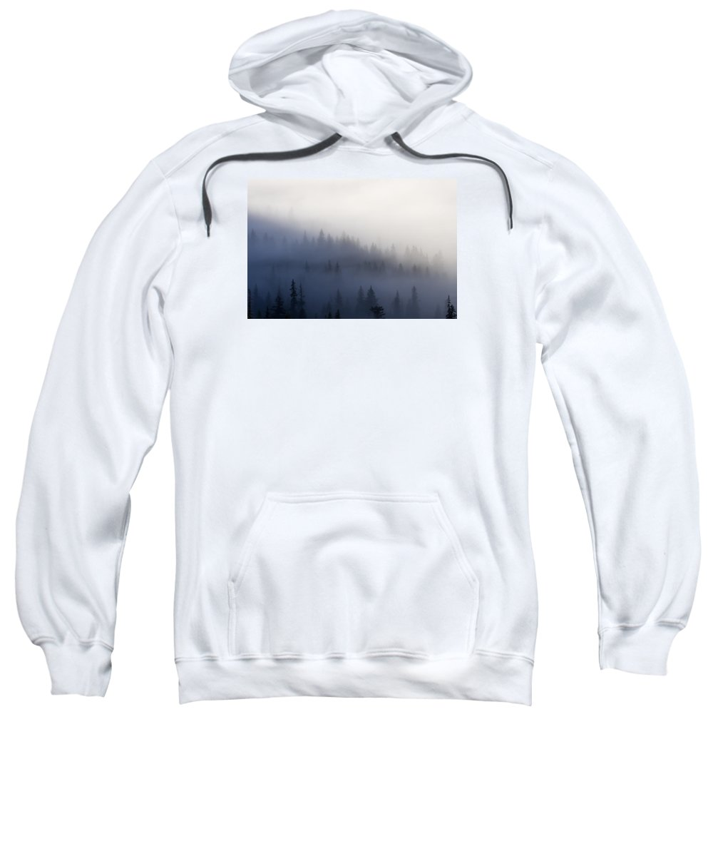 Clouds Sweatshirt featuring the photograph Piercing The Veil by Mike Dawson