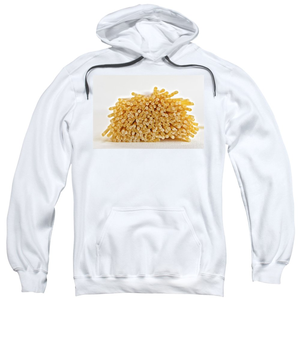 Food Sweatshirt featuring the photograph Pile Of Pasta by Julian Eales