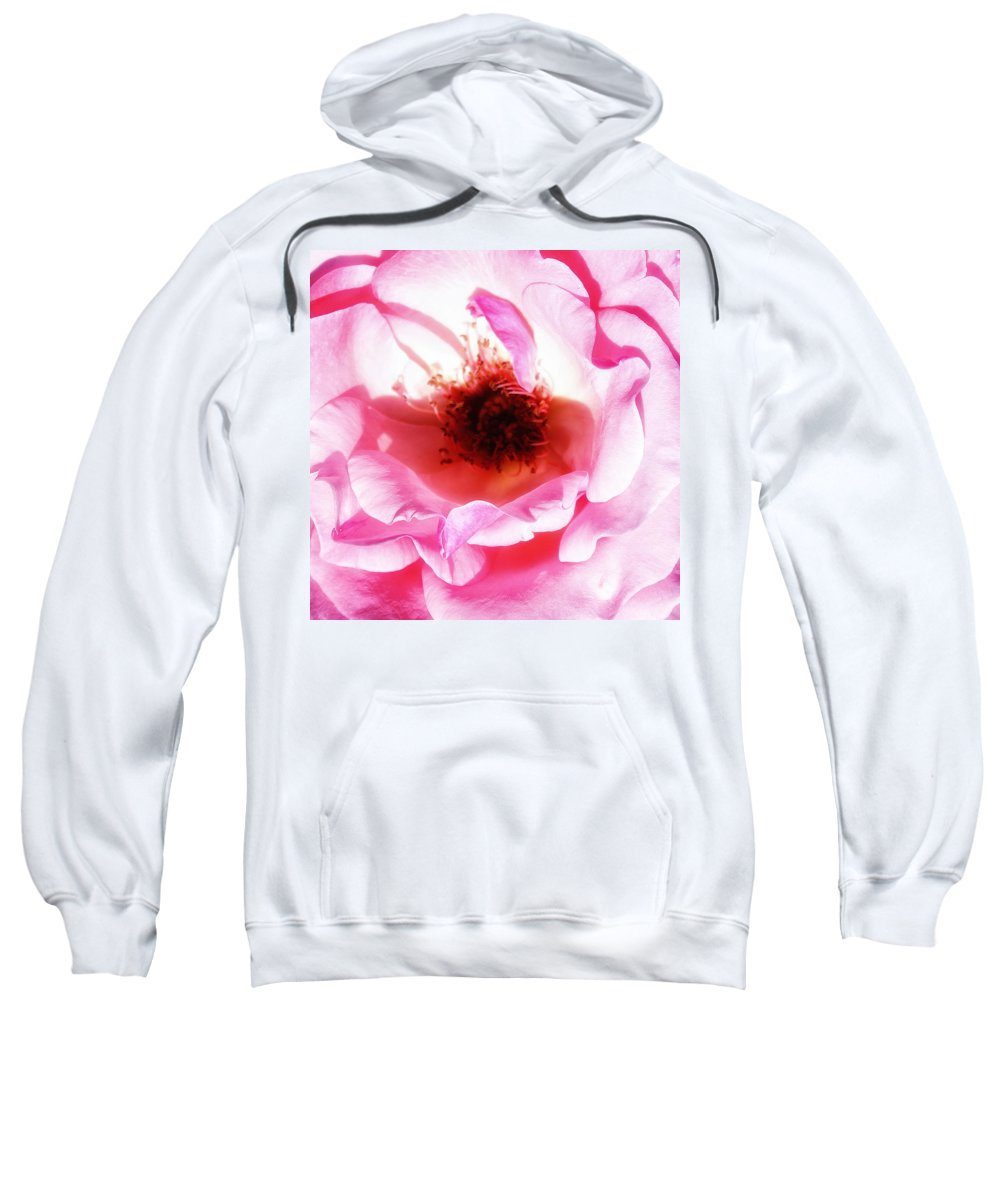 Pink Sweatshirt featuring the photograph Pink Tourmaline Palm Springs by William Dey