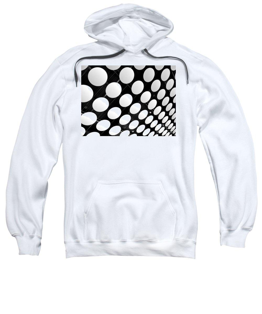 Ceiling Sweatshirt featuring the photograph Polka Dots by Ann Horn