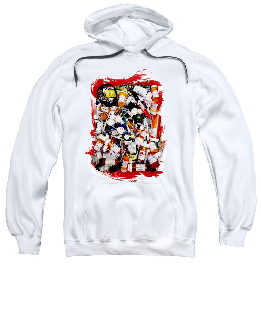 Josh Brown Sweatshirt featuring the sculpture Popular Mechanics      by Josh Brown