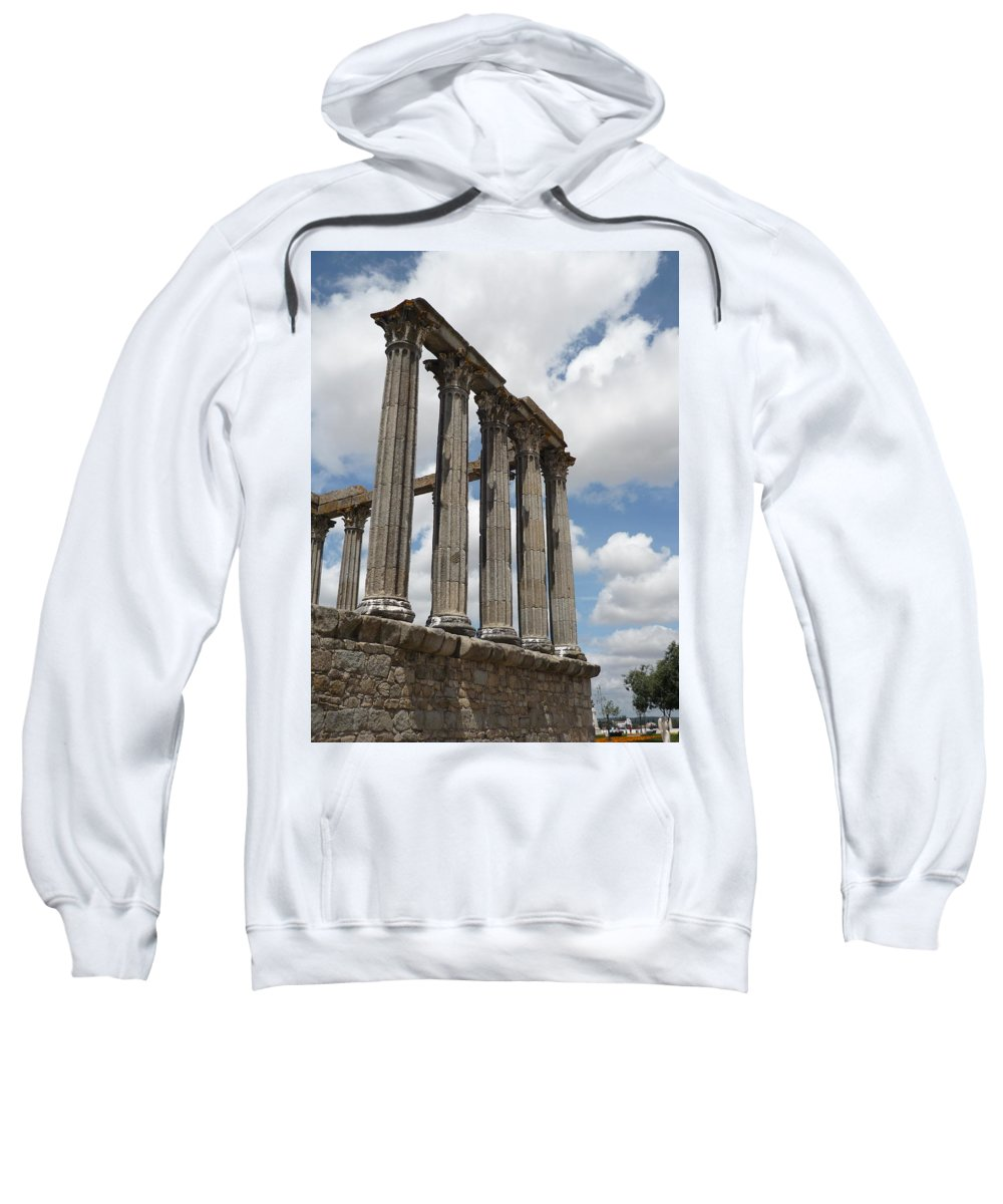 Architecture Sweatshirt featuring the photograph Portugal 2 by Kimberly Maxwell Grantier