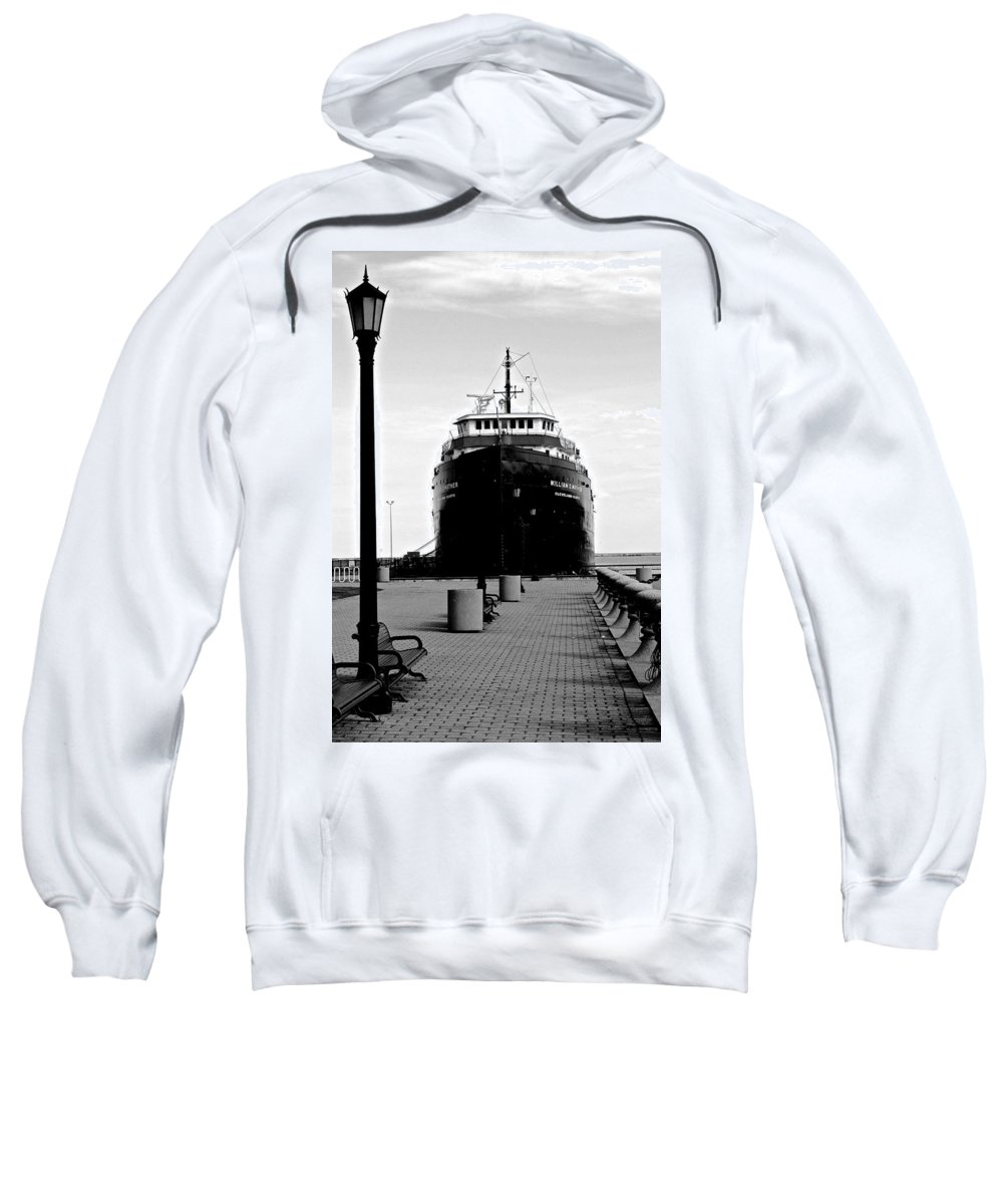 Ship Sweatshirt featuring the photograph Postcard Perfect by Frozen in Time Fine Art Photography