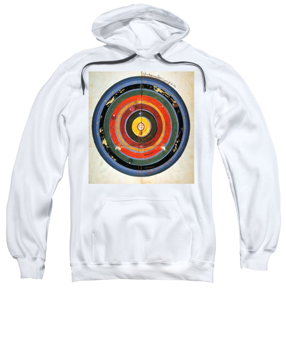15th Century Sweatshirt featuring the photograph Pre-copernican Universe by Granger