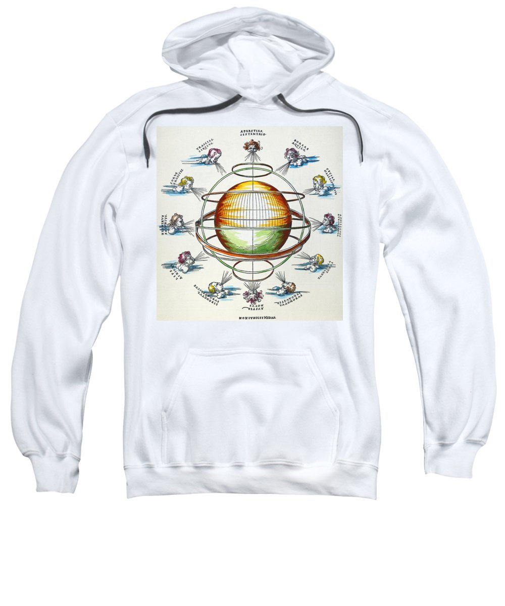 1525 Sweatshirt featuring the photograph Ptolemaic Universe, 1525 by Granger