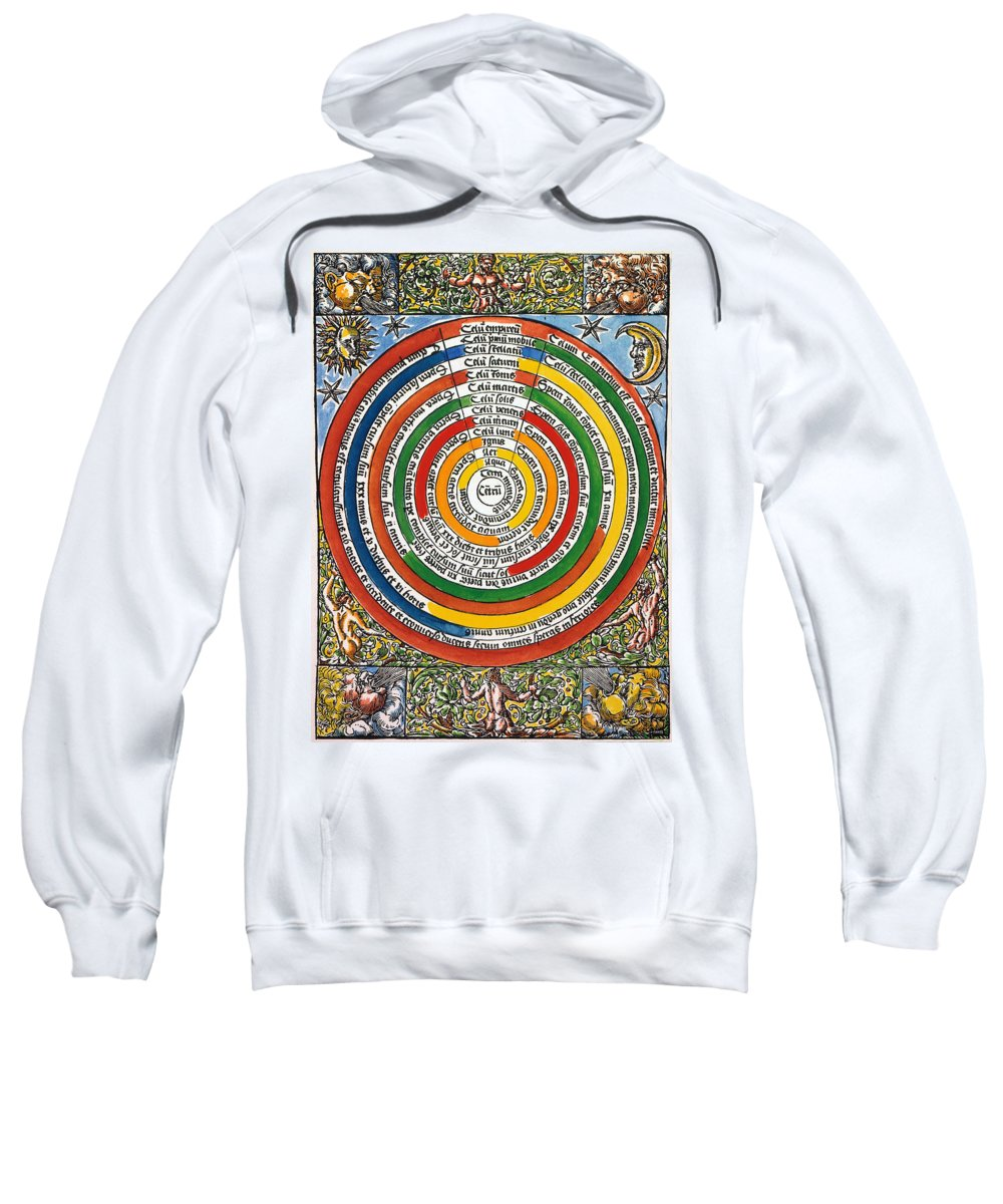 1537 Sweatshirt featuring the photograph Ptolemaic Universe, 1537 by Granger