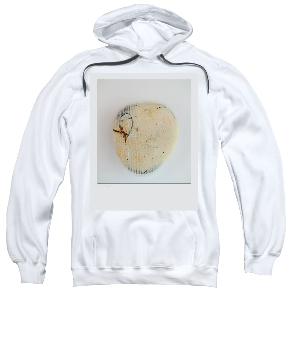 Quake Sweatshirt featuring the painting Quake by Charles Stuart