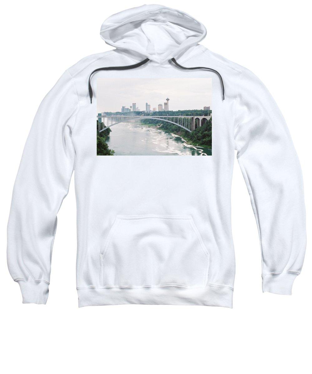 Bridge Sweatshirt featuring the photograph Rainbow Bridge by Lee Hartsell