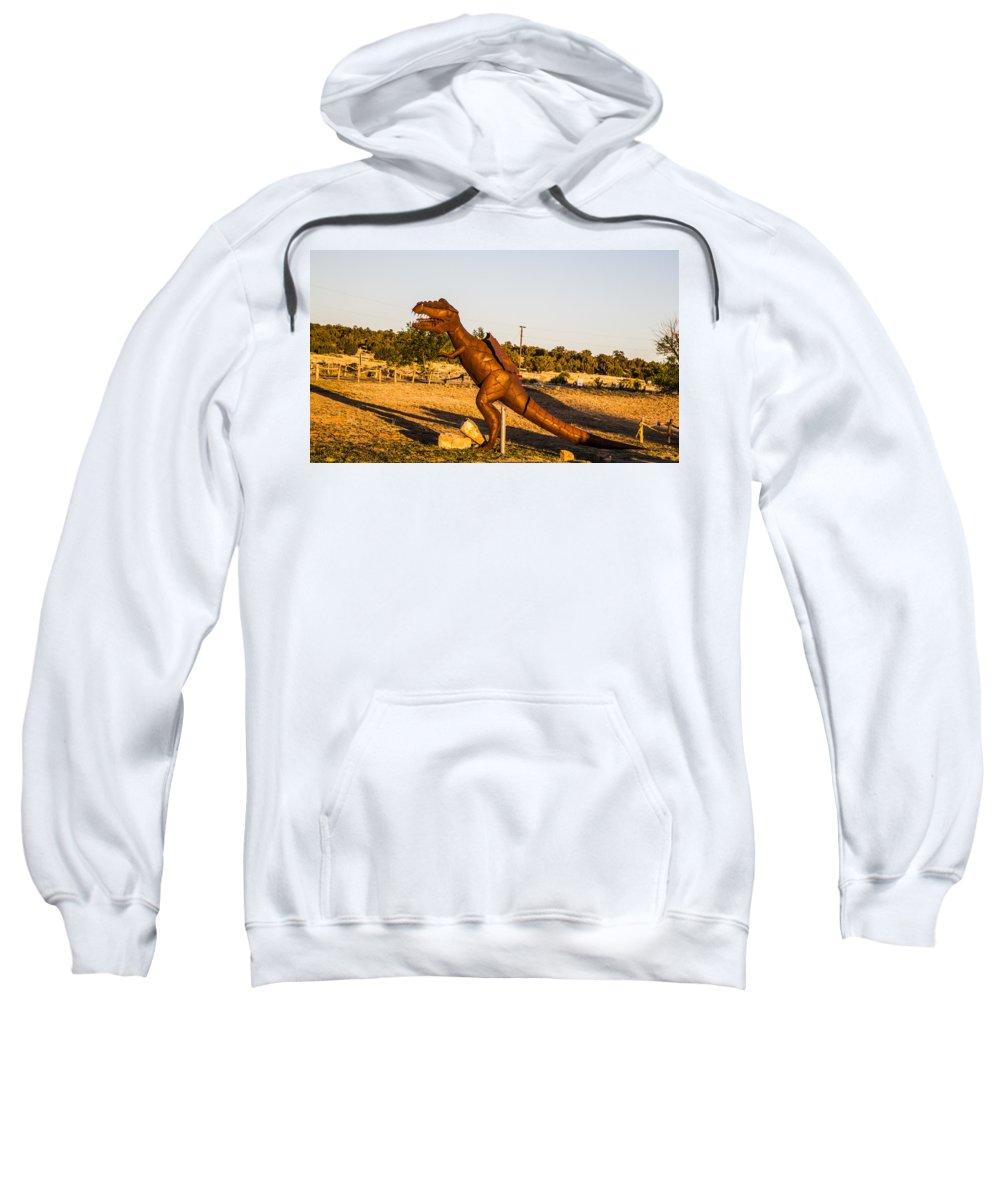 Grand Caverns Sweatshirt featuring the photograph Rawr by Angus Hooper Iii
