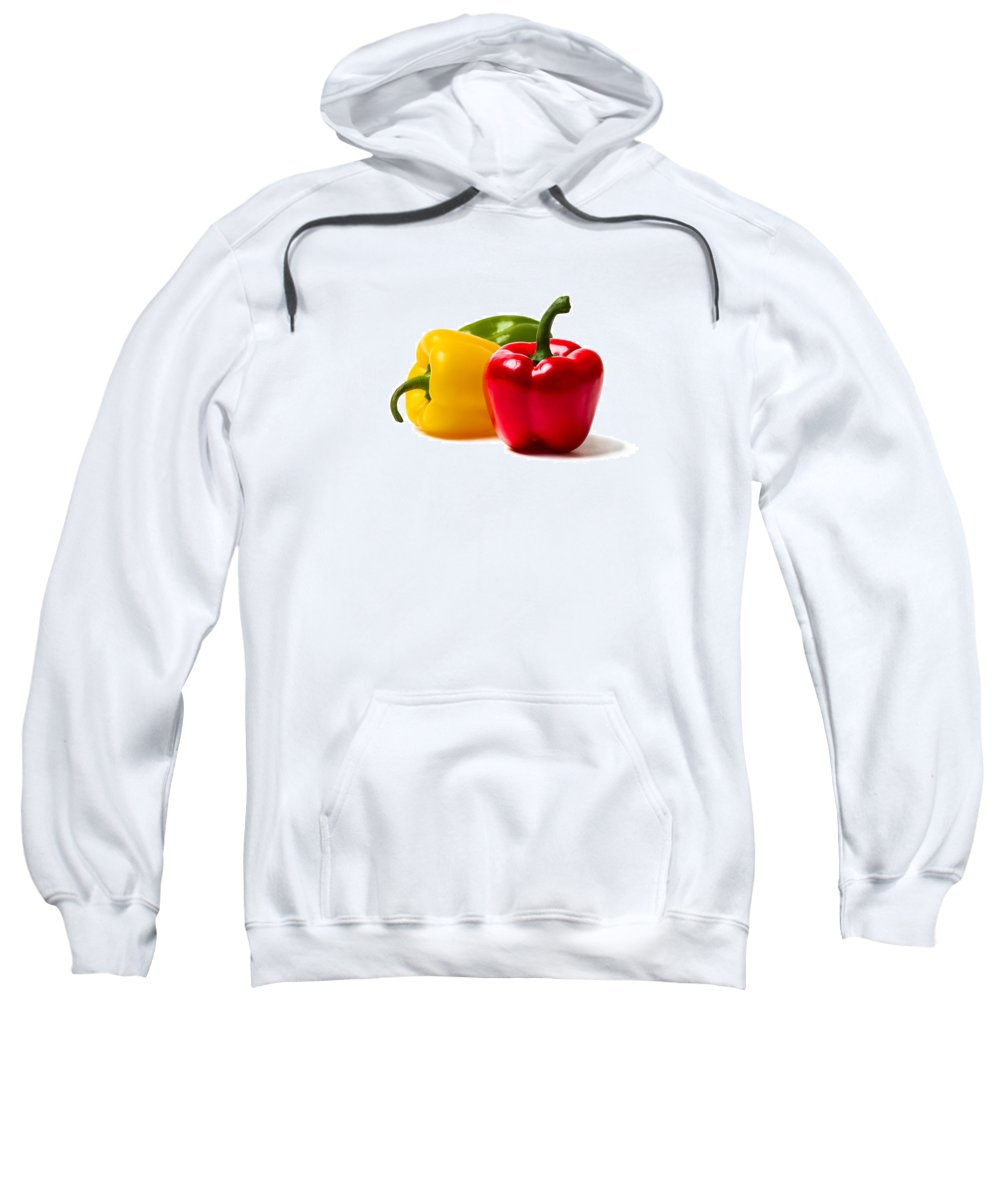 Pepper Sweatshirt featuring the photograph Red Sweet Pepper by Alexander Senin