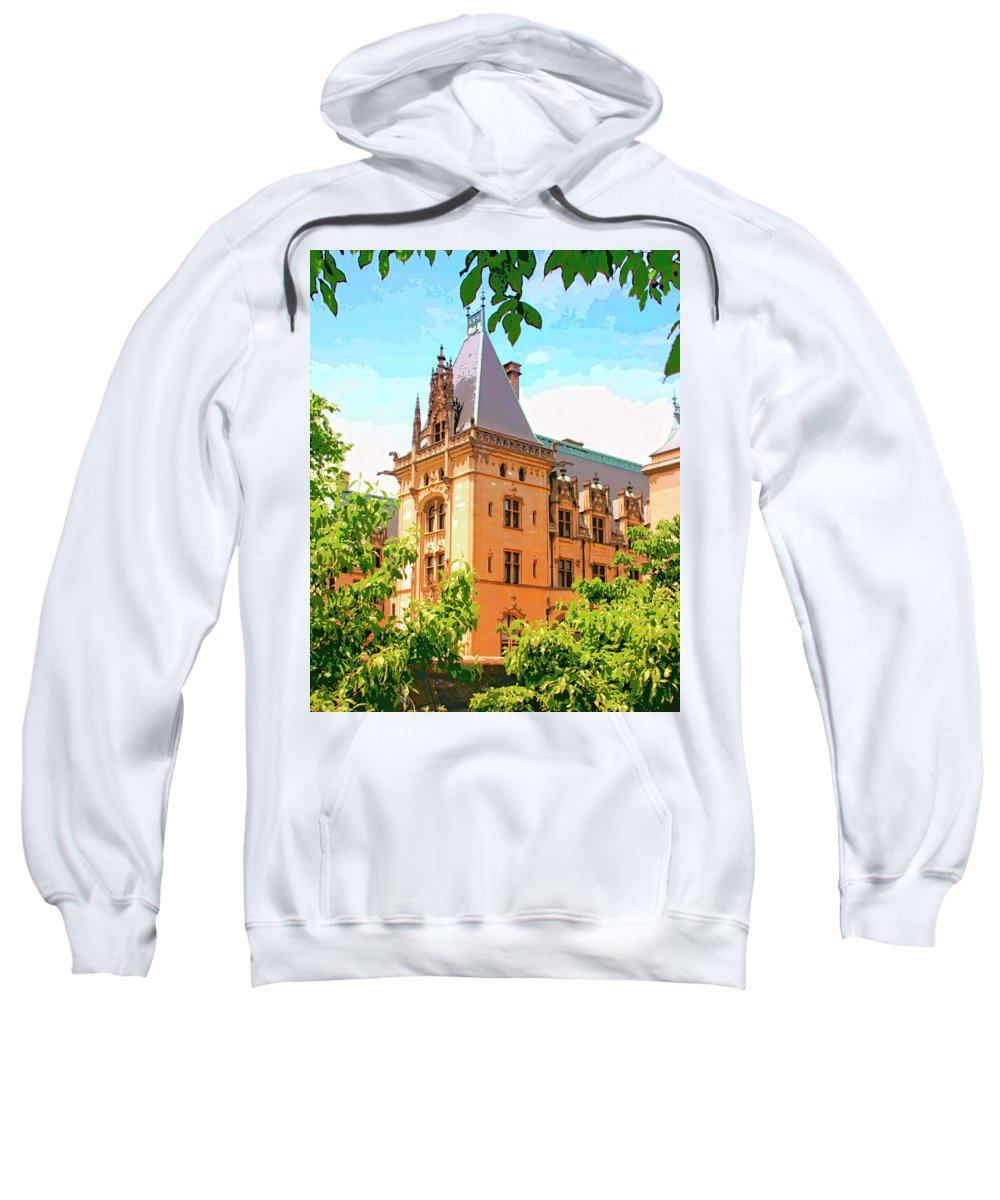 Asheville Sweatshirt featuring the photograph Revival Biltmore Asheville Nc by William Dey