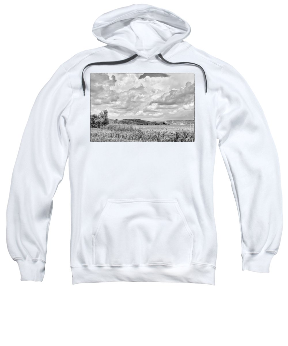 Hills Sweatshirt featuring the photograph Round Lake by Rebecca Akporiaye