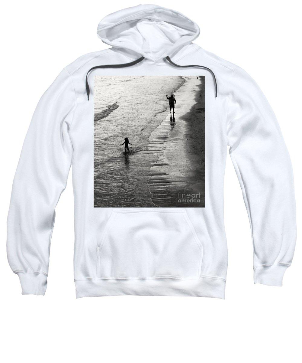 Freedom Sweatshirt featuring the photograph Running Wild Running Free by Edward Fielding