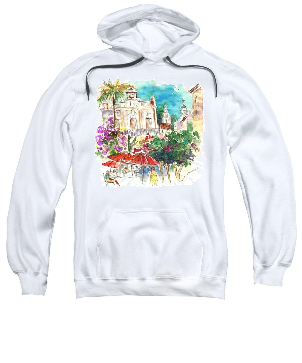 Travel Sweatshirt featuring the painting Sanlucar De Barrameda 03 by Miki De Goodaboom