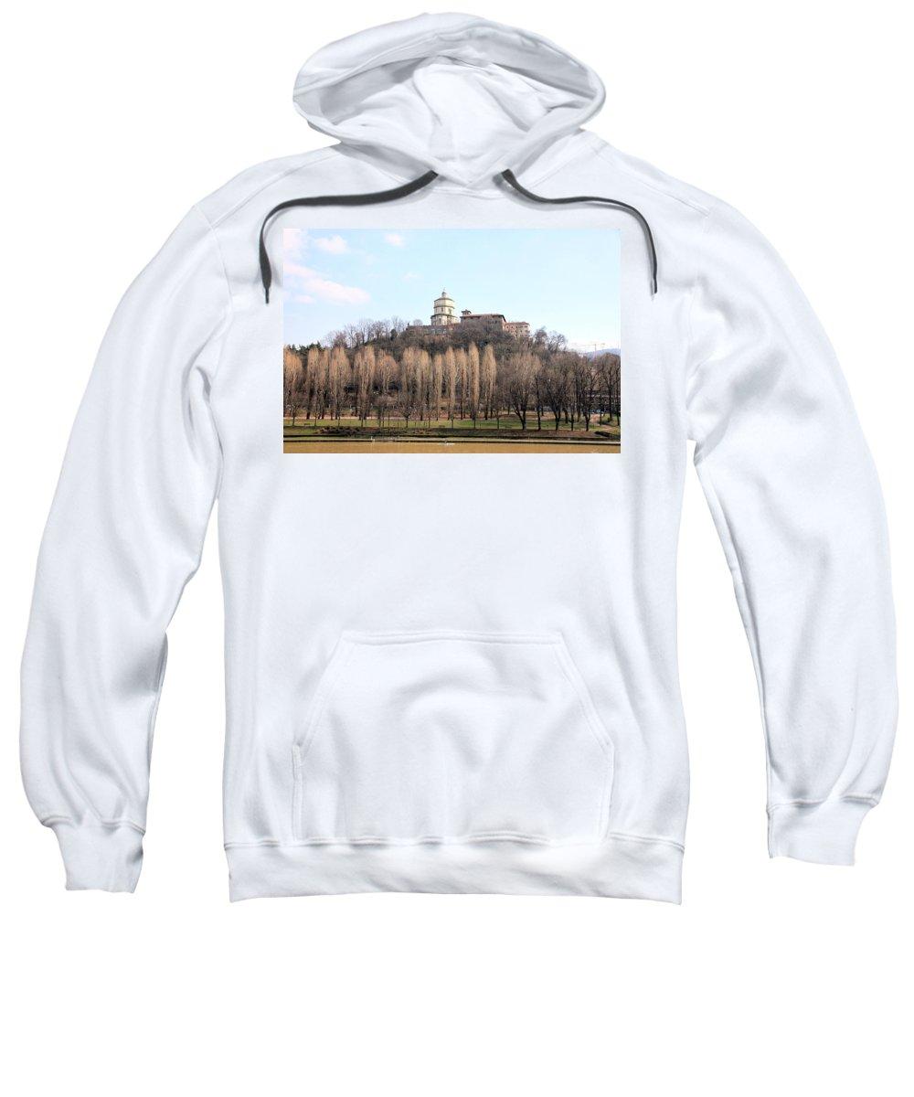 Church Sweatshirt featuring the photograph Santa Maria Del Monte Church by Valentino Visentini