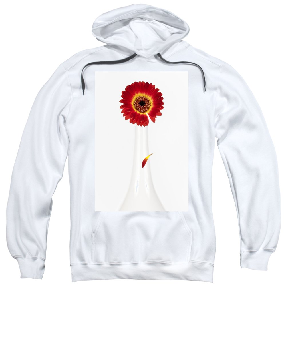 Flower Sweatshirt featuring the photograph Separation by Dave Bowman