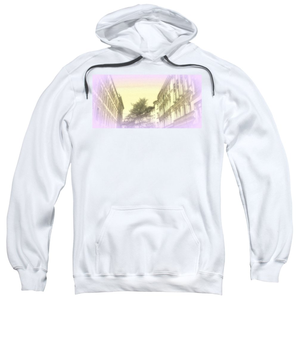 Horse Sweatshirt featuring the photograph Dreaming Of Our Mostly Sky Life by Hilde Widerberg