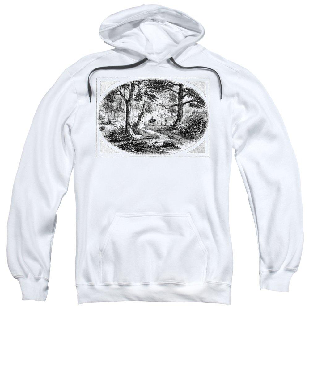 1780 Sweatshirt featuring the photograph South Carolina Battlefield by Granger