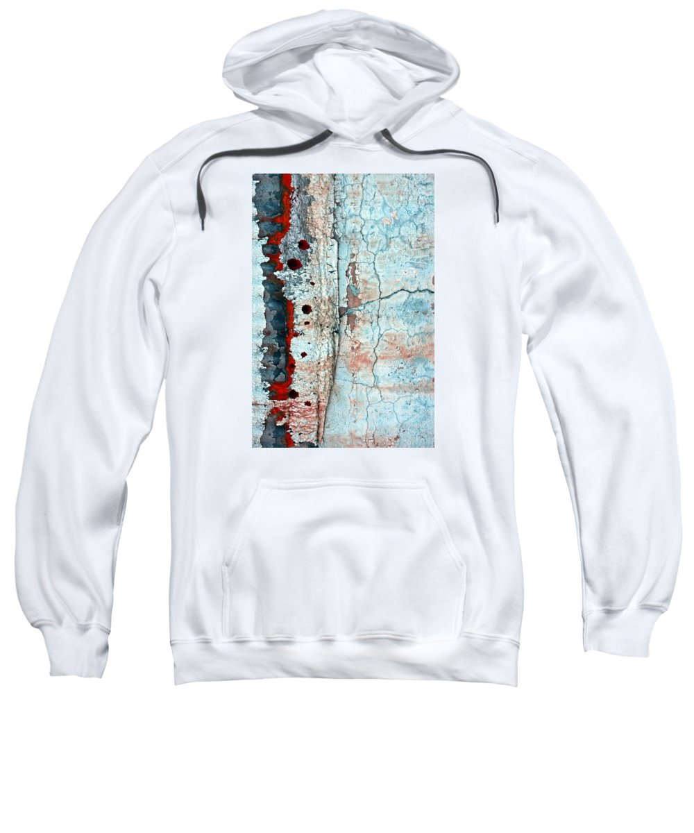 Abstract Sweatshirt featuring the photograph Spinal Tap by Marcia Lee Jones