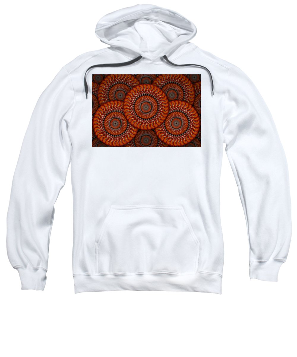 Abstract Guitars Sweatshirt featuring the photograph Spinning Guitars 2 by Mike McGlothlen