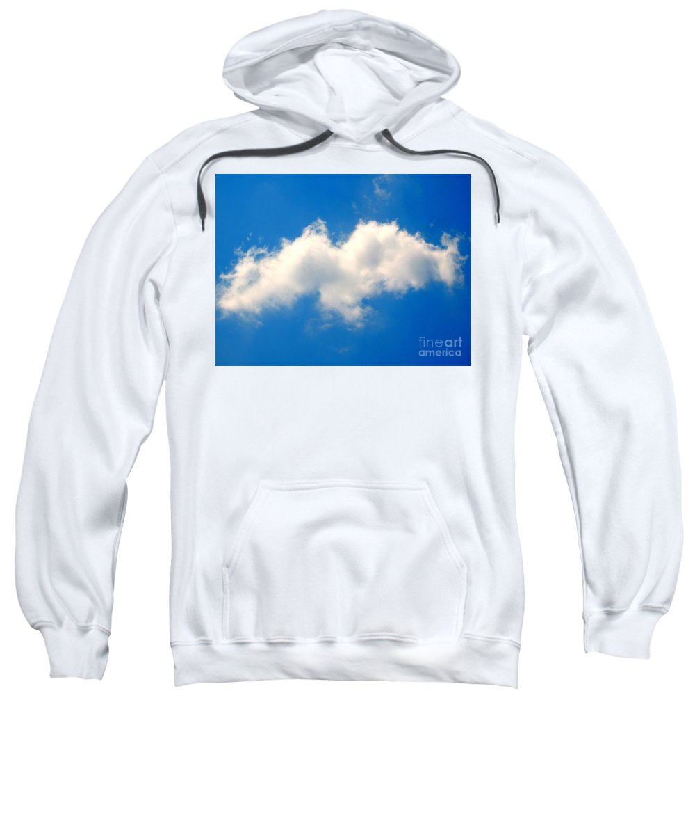 Spirit In The Sky Sweatshirt featuring the photograph Spirit In The Sky by Patti Whitten
