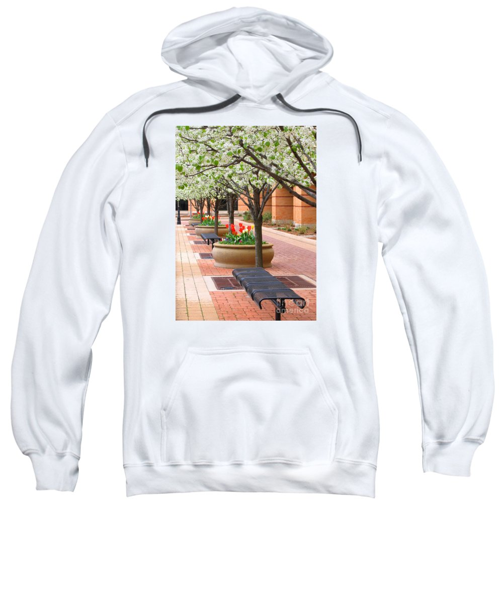 Spring Sweatshirt featuring the photograph Spring Fragrance by Ann Horn