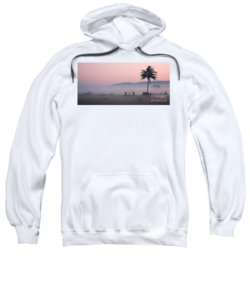Morning Sweatshirt featuring the photograph Start by Dattaram Gawade