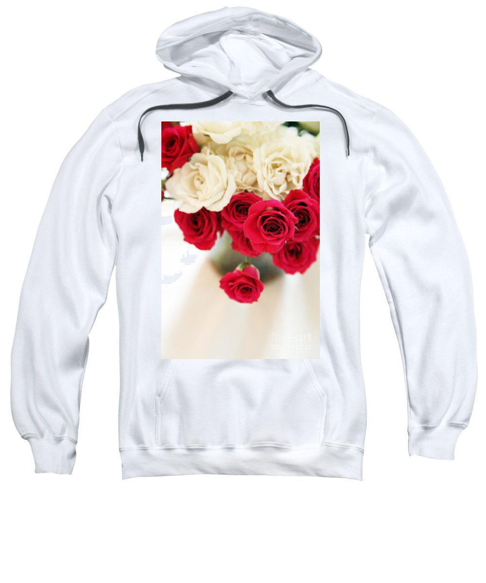 Roses Sweatshirt featuring the photograph Still Moments by Amanda Barcon