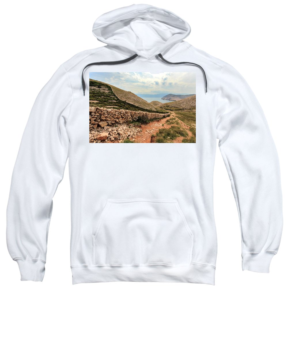 Landscapes Sweatshirt featuring the photograph Stonewall by Davorin Mance