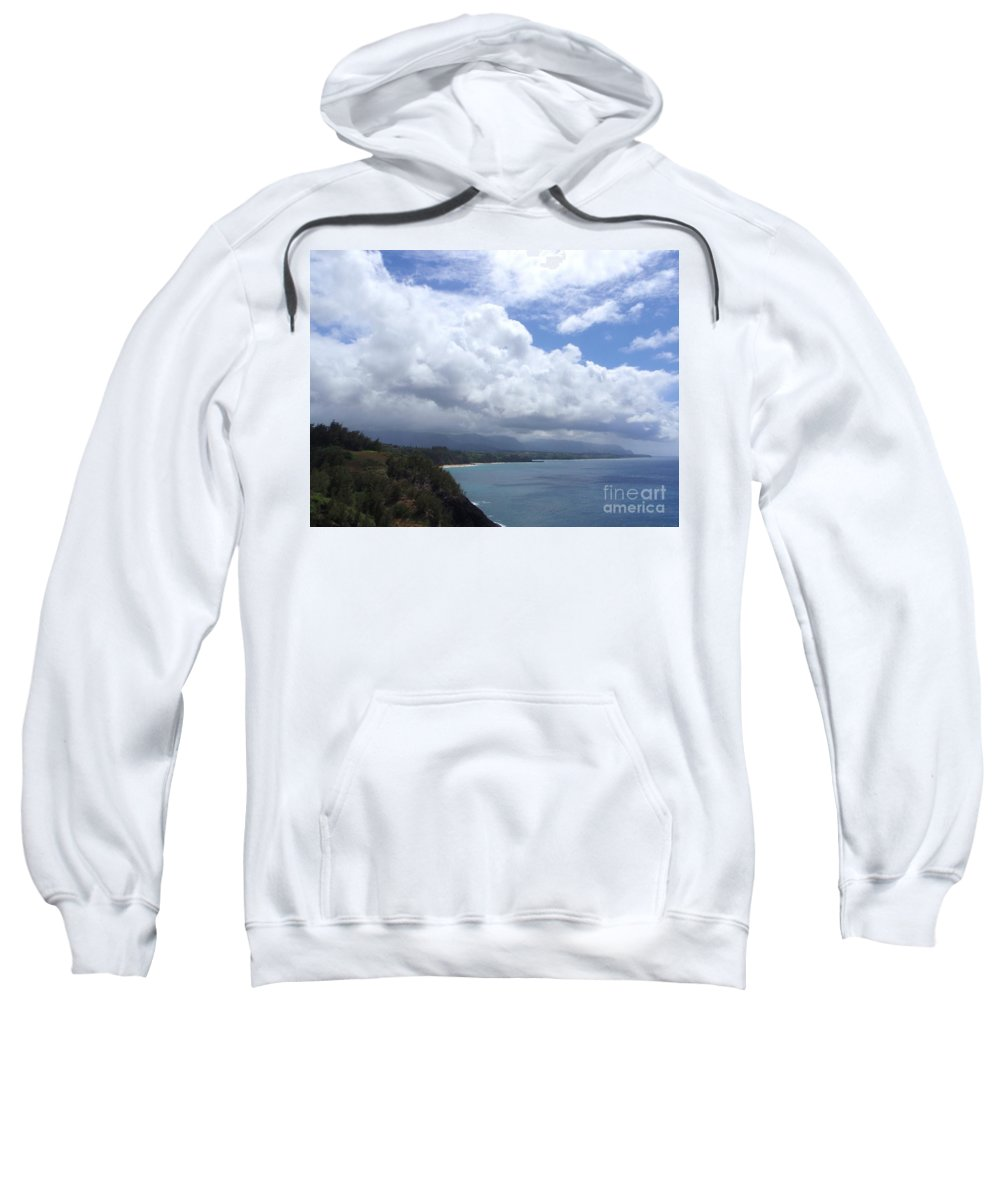 Bali Hai Sweatshirt featuring the photograph Storm Over Bali Hai by Mary Deal