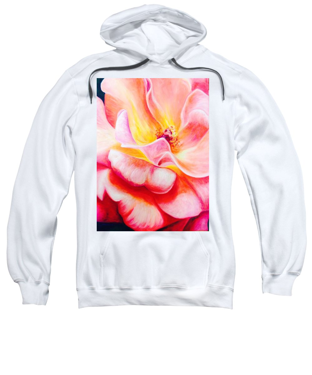 Painting Sweatshirt featuring the painting Summer Romance by Katherine Boiczyk