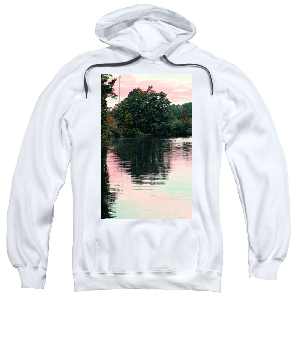 Sundown Sweatshirt featuring the photograph Sundown Just This Side Of The City by Maria Urso